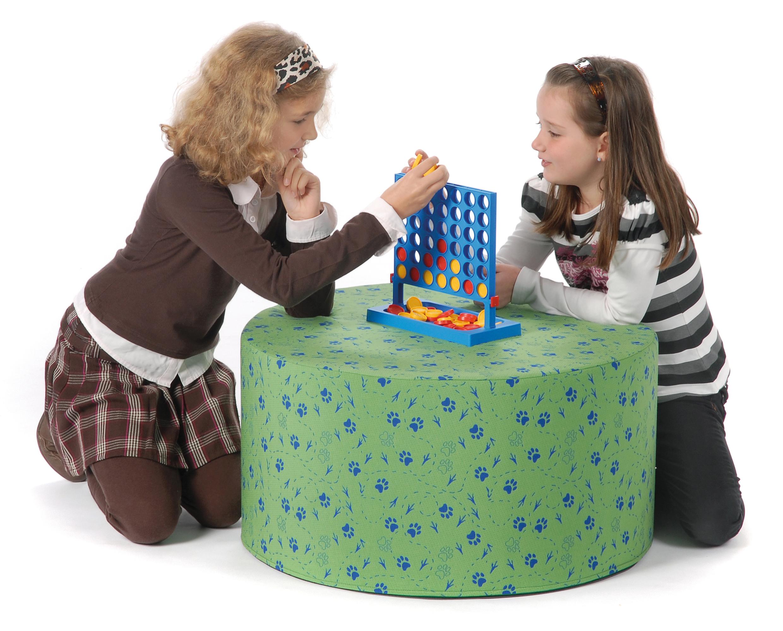 Kindertisch rund Qualitätskunstleder